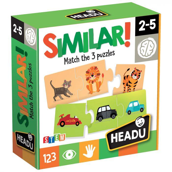 Set Joc educational Similar Headu ARA-HE20768