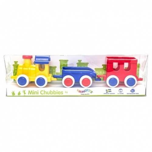 Set Trenulet Chubbies VikingToys, 12 luni+