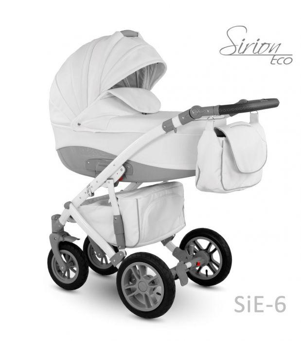 Carucior 3 in 1 Sirion Eco Camarelo SiE-6 Alb