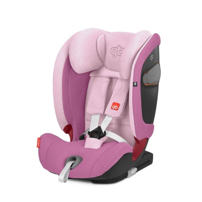 Scaun auto ISOFIX Everna-fix GB, 9-36 kg, Sweet Pink