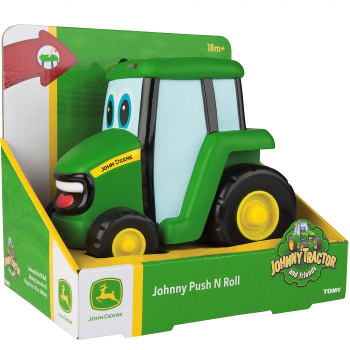 Tractoras Push N Roll John Deere TOMY -T42925