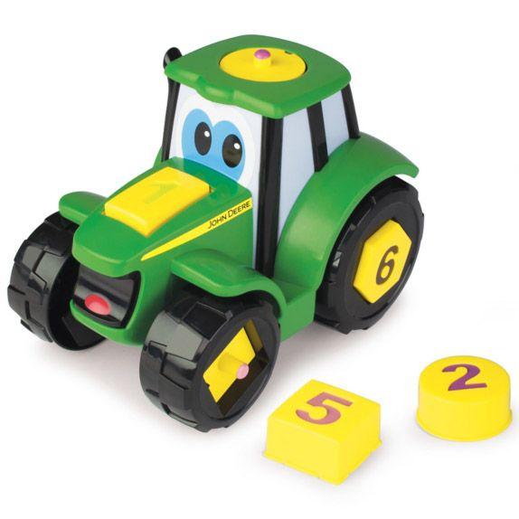 Tractoras Learn N Pop John Deere TOMY T46654