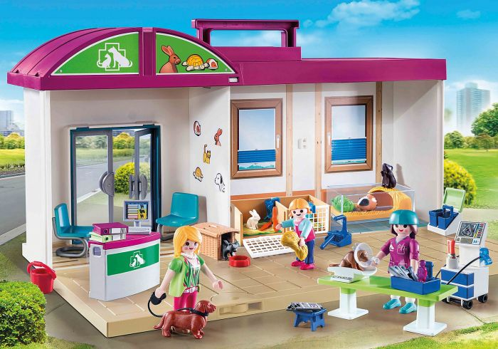 Clinica veterinara, Playmobil,  4 ani+