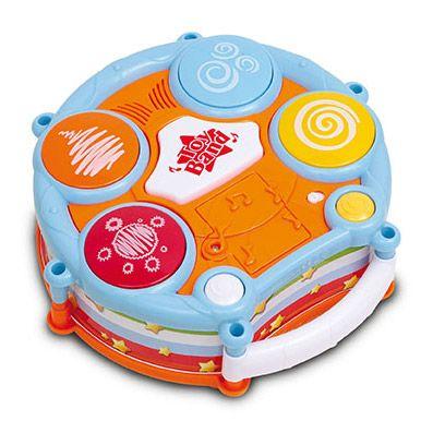 toba electronica instrument muzical copii muzica ritm sunete abilitati sociale si cognitive coordonare miscari atentie distributiva