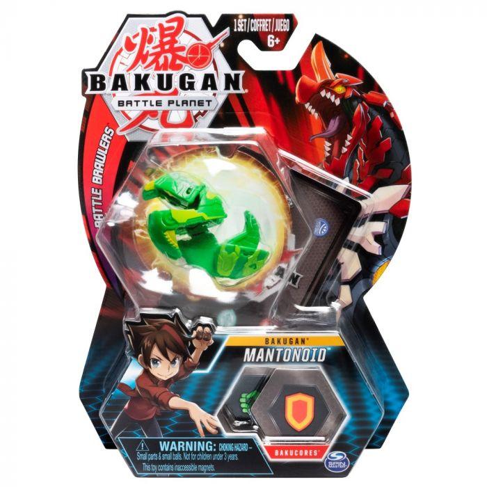 Joc Bakugan Bila Mantonoid Mantis Green Spin Master, 5 ani+