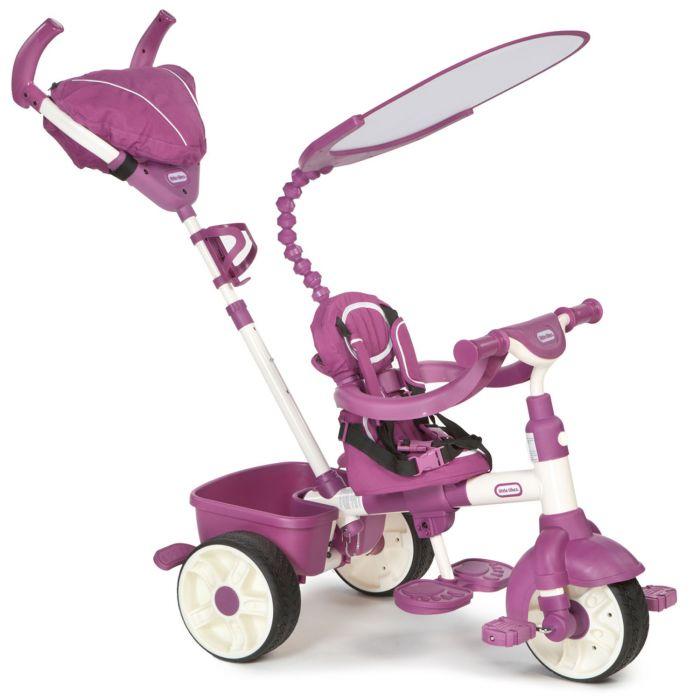 tricicleta sport 4 in 1 little tikes pentru copii