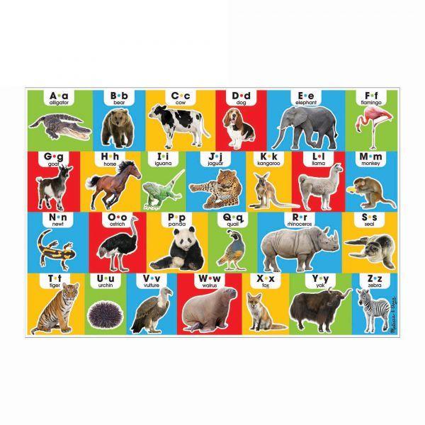 Puzzle de podea Alfabetul in engleza Melissa & Doug, 3 ani+