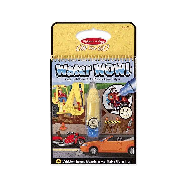 Carnet de colorat Apa Magica Vehicule Melissa & Doug, 3 ani+