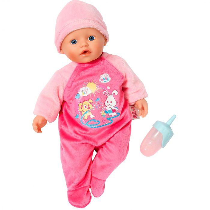 Papusa bebelus la baita My Little Born baby Zapf