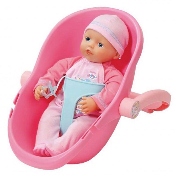Papusa My Little Baby set bebelus si scoica Zapf