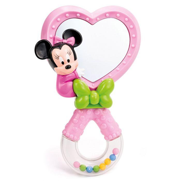 zornaitoare oglinda inimioara roz minnie mouse