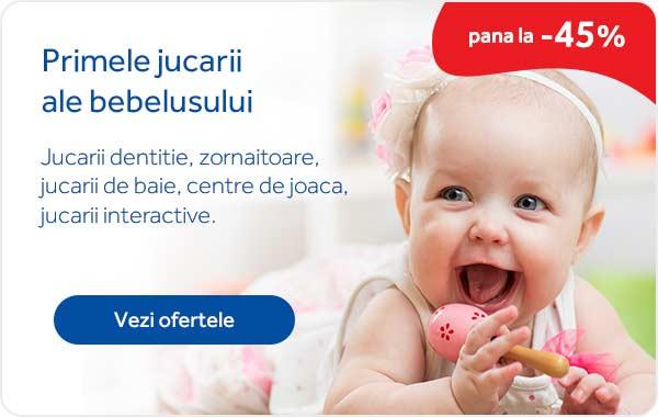 Promotii primele jucarii ale bebelusului