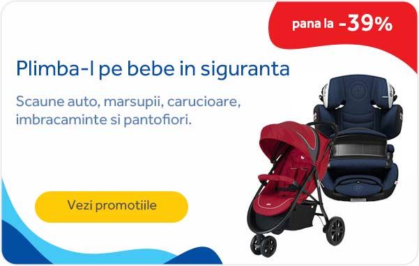 Promotii Plimba-l pe bebe in siguranta